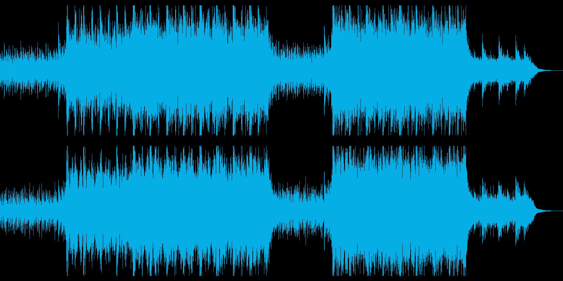 雨に佇む精霊・ファンタジー系ケルト音楽の再生済みの波形