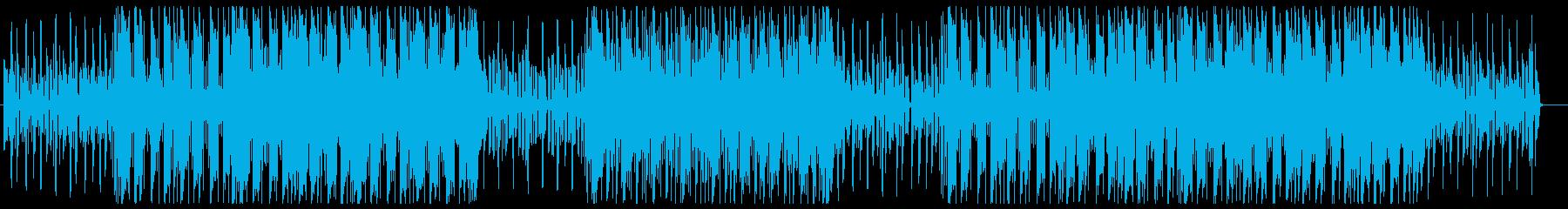 Cute future pop's reproduced waveform