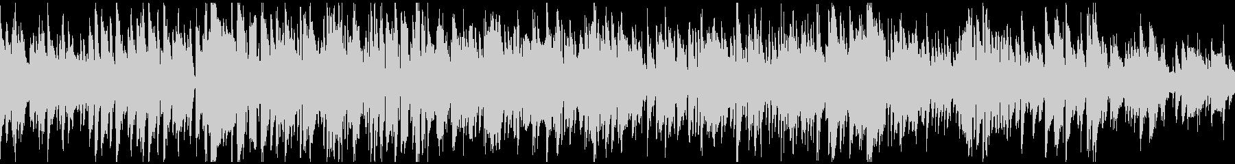 テナーサックス生演奏のボサノバ※ループ版の未再生の波形