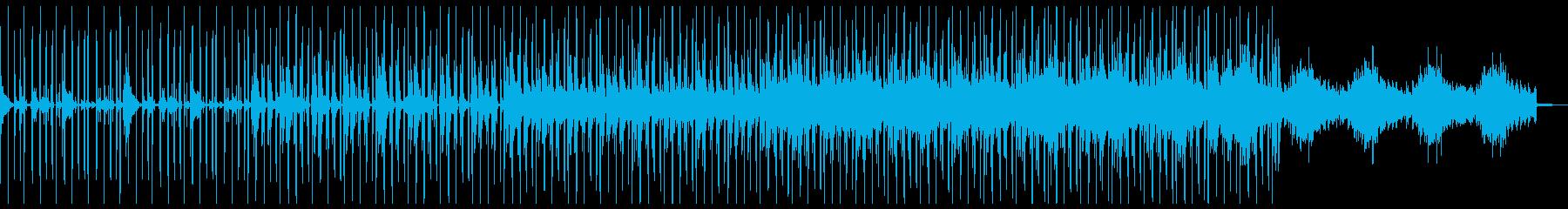 ローファイヒップホップ 和風 戦国の再生済みの波形