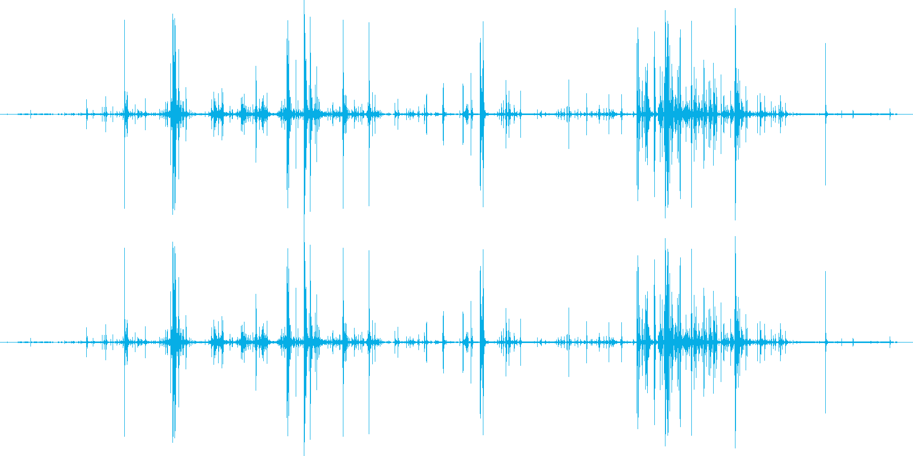 木 スプリンターロー05の再生済みの波形