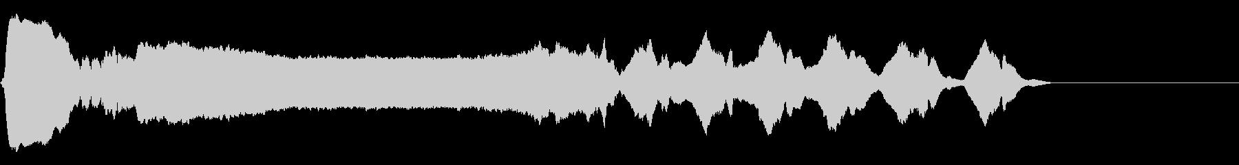 [生録音]和縦笛-ワンショット素材01の未再生の波形