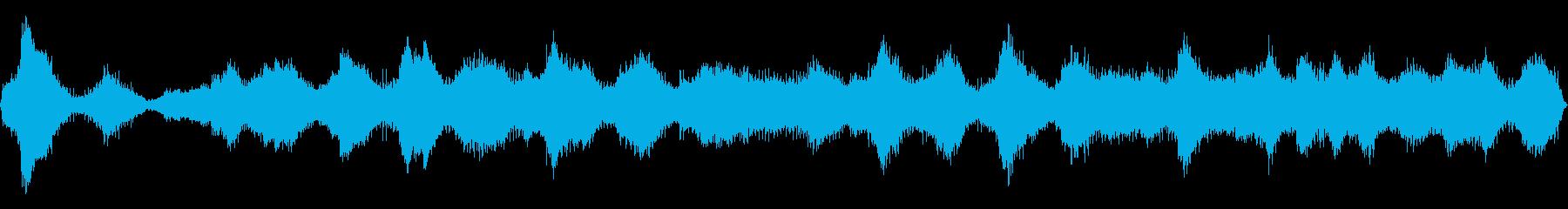 変調ピンクノイズドーナツの再生済みの波形