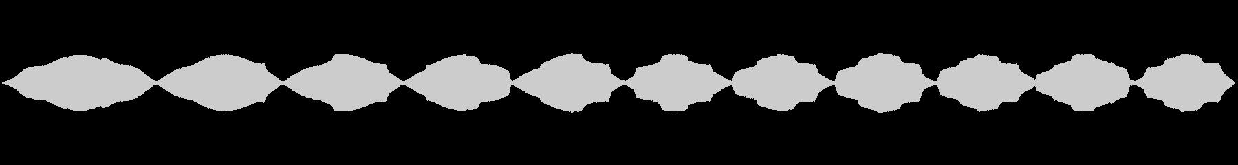 電子パルス1の未再生の波形