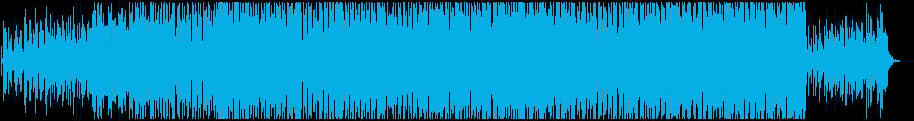 日本的で和風勇壮なかっこいい和楽器ロックの再生済みの波形