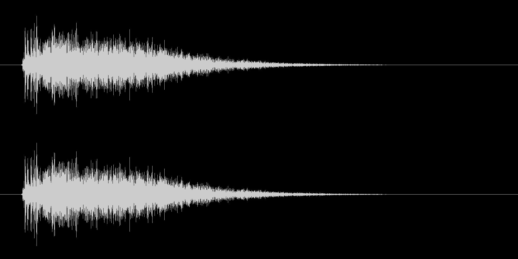 レーザー音-13-3の未再生の波形