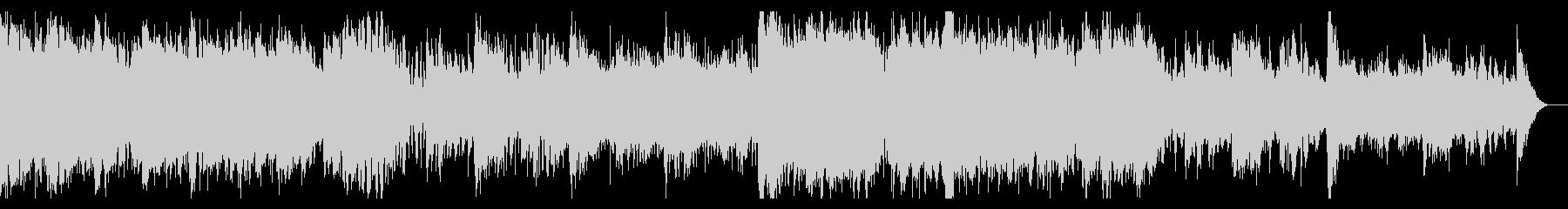 ミステリー・ホラーなシネマティックBGMの未再生の波形