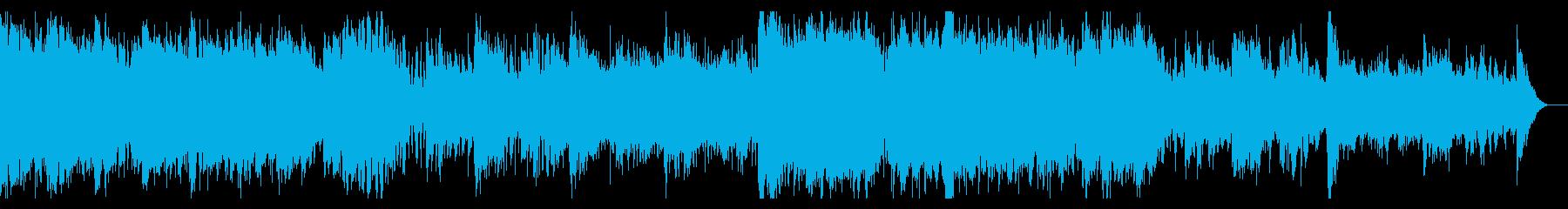 ミステリー・ホラーなシネマティックBGMの再生済みの波形