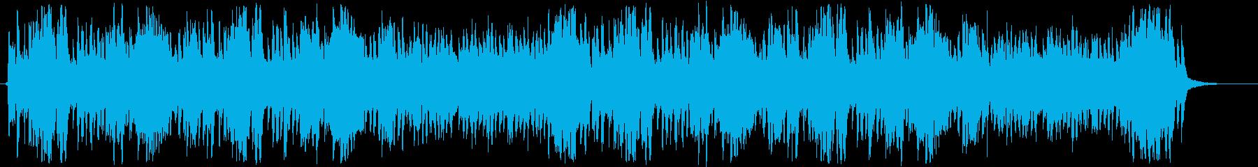 優しいクラリネットのハーモニーの再生済みの波形