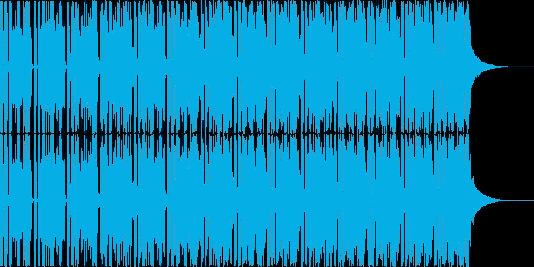 和楽器+ダンス要素の和洋折衷な楽曲です…の再生済みの波形