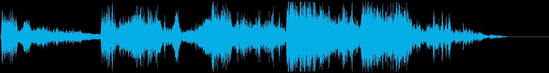 モンスターアクション7の再生済みの波形