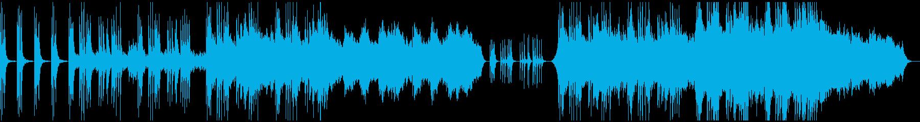 せつないピアノバラードの再生済みの波形