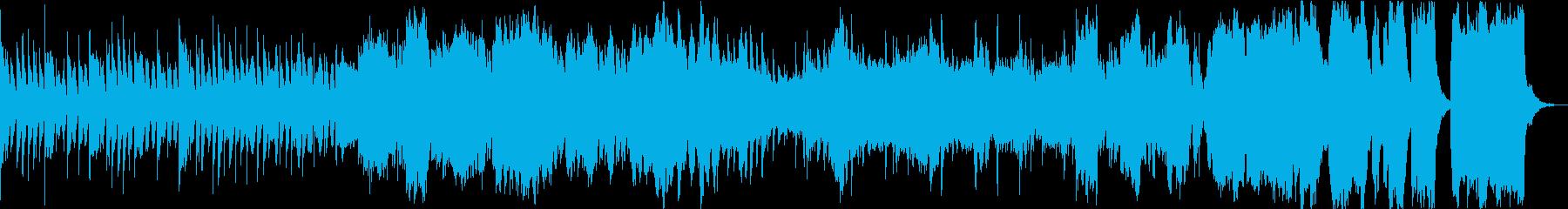 クラシカルな日常BGMの再生済みの波形