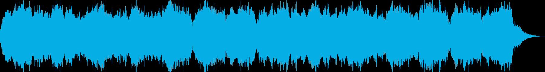 自然の神秘・クリアな音のアンビエントの再生済みの波形