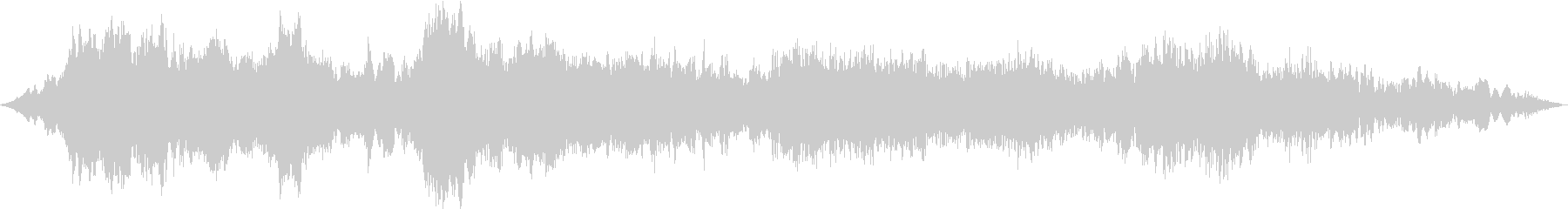 ドローン 逆チャイム01の未再生の波形