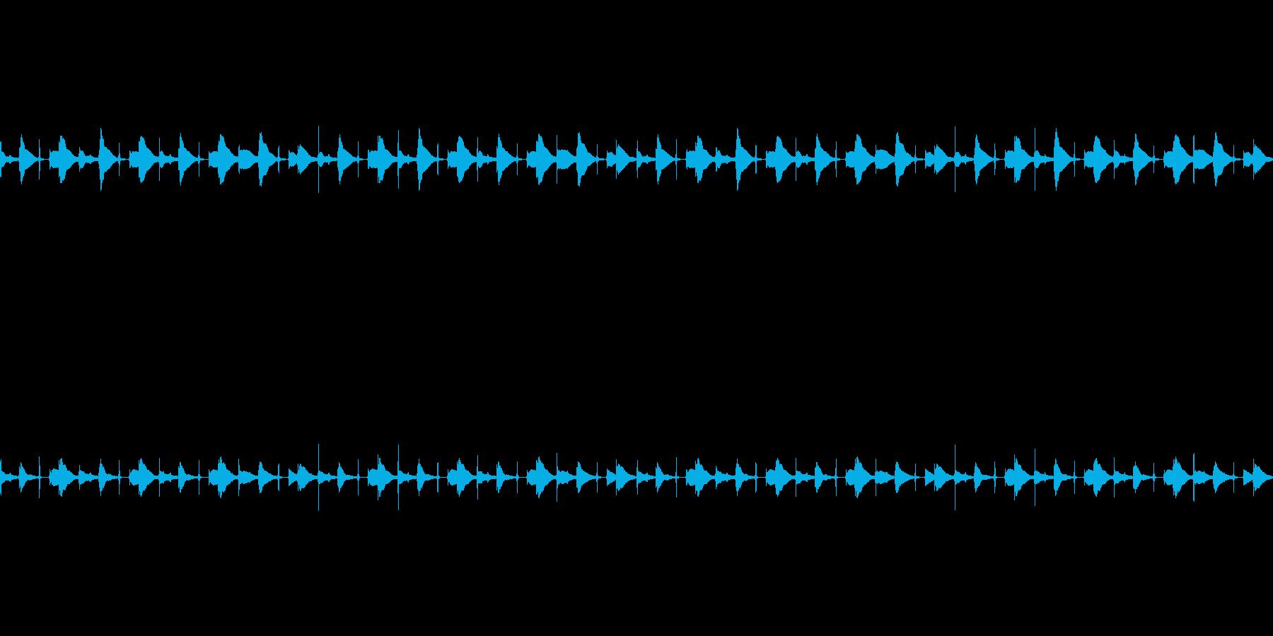 マリンバ、おどけた、日常、ループ、アニメの再生済みの波形
