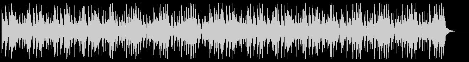 何かを狙っているときに流れるBGMの未再生の波形
