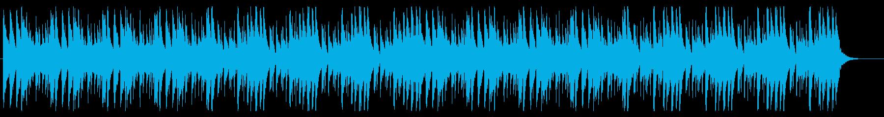 何かを狙っているときに流れるBGMの再生済みの波形