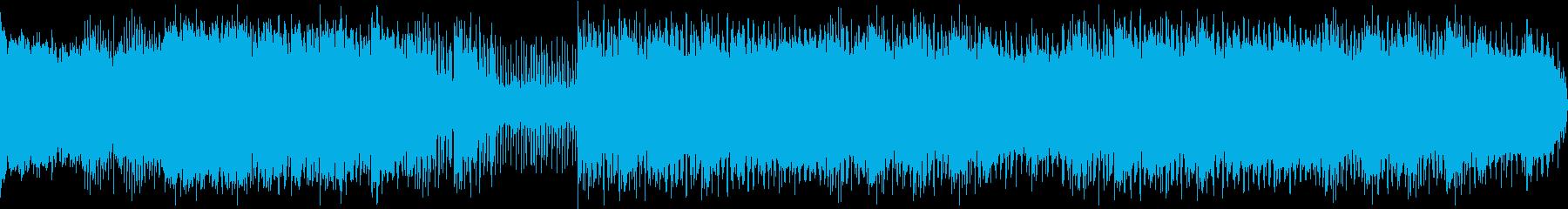 ショータイムを見ている時間のイメージの再生済みの波形