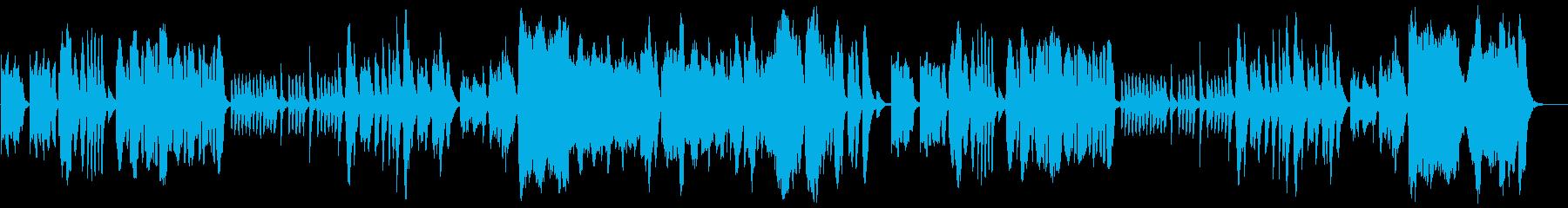 コミカルでほのぼのとした管弦楽の再生済みの波形