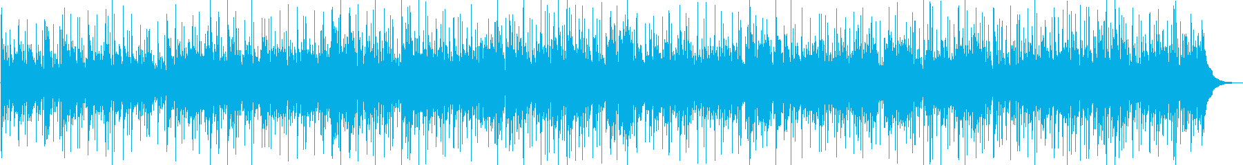 アコースティックギターで始まるBGMの再生済みの波形