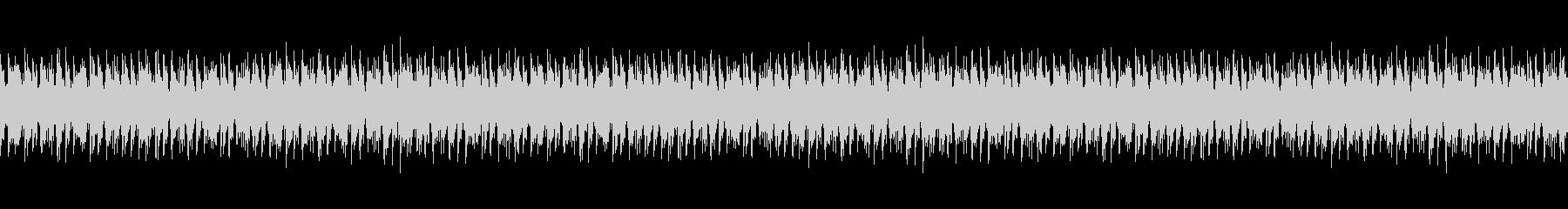 エレキギターで日常系BGMの未再生の波形