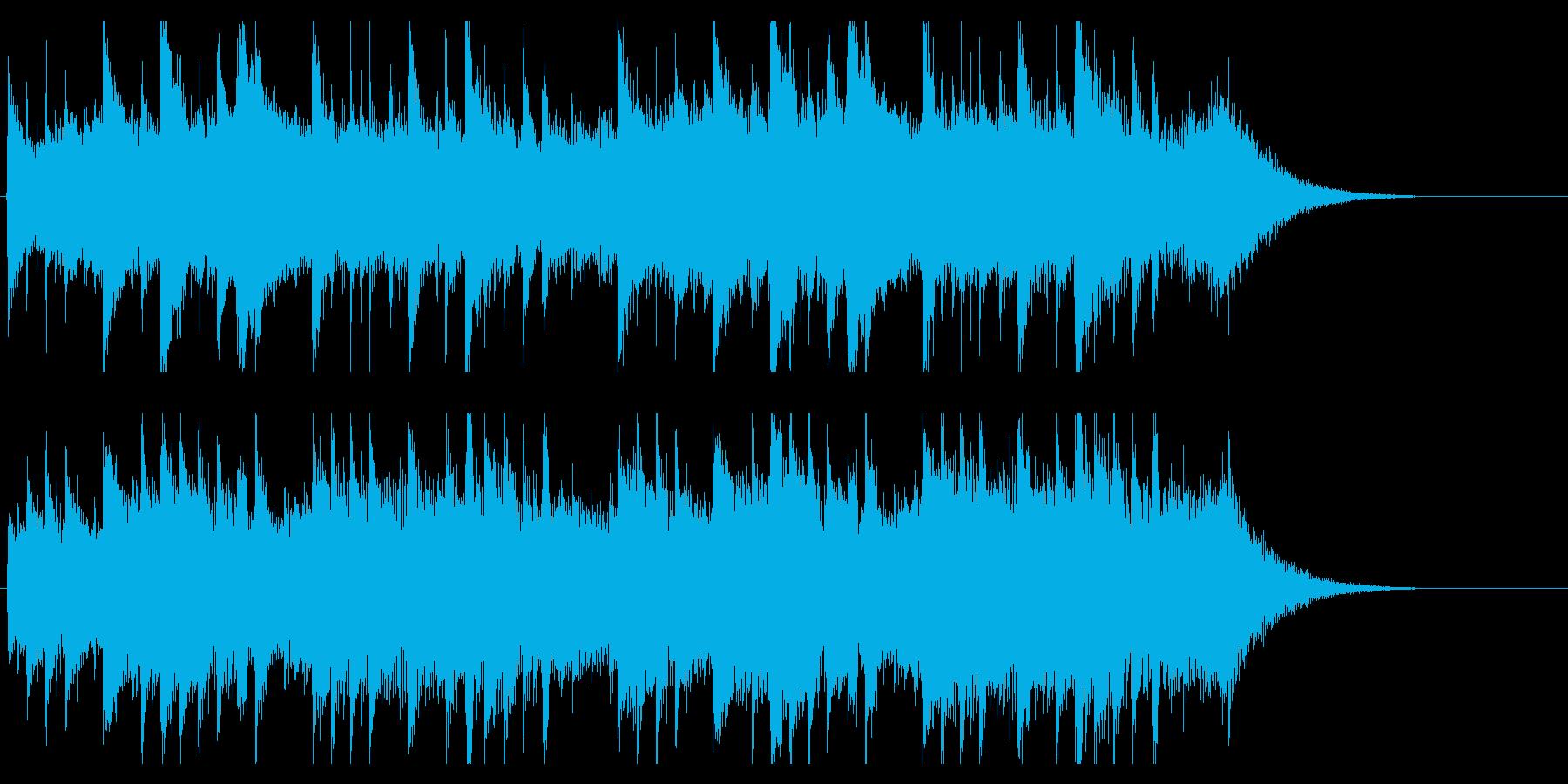 ピアノジングル 優しく感動的ほのぼの癒しの再生済みの波形