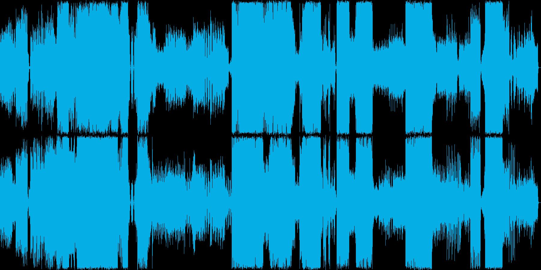 オーケストラの再生済みの波形