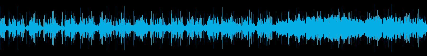 ゲーム、アクション・炎系(Loop対応)の再生済みの波形