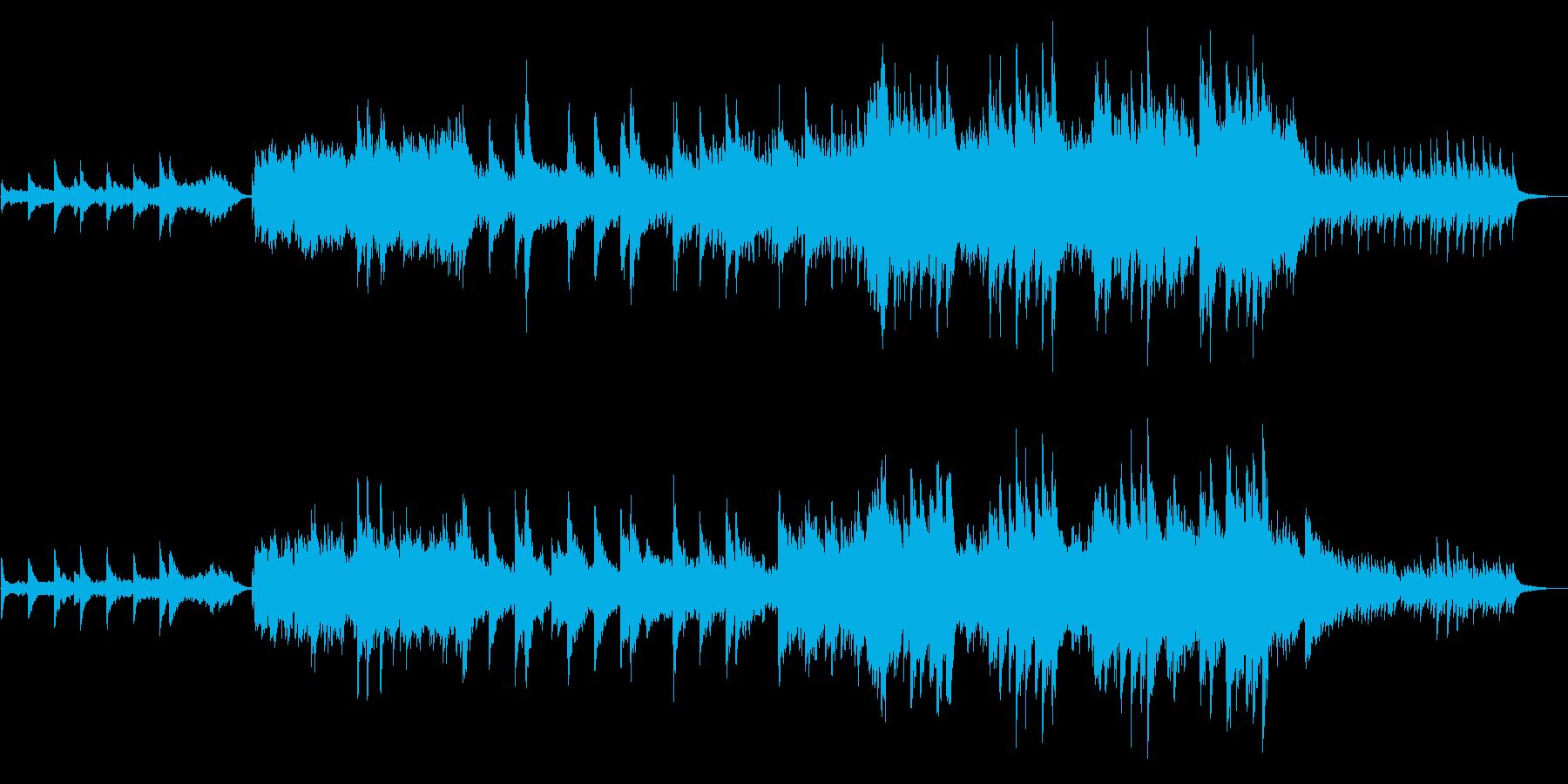 Holiday Beachライト版の再生済みの波形