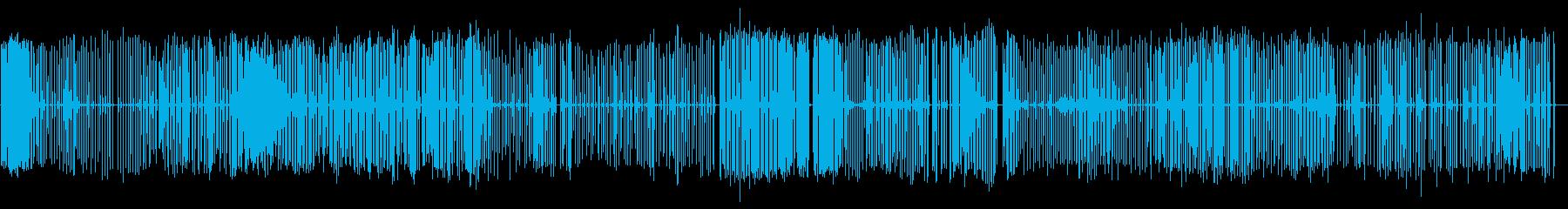 4本の竹によるフリーソロアンサンブルの再生済みの波形