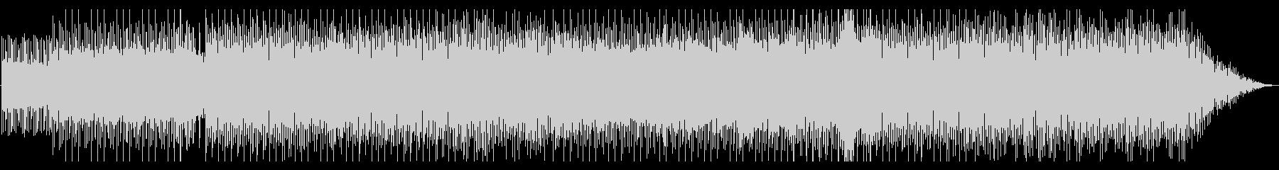 スムーズジャズ的な都会的ドラムンベースの未再生の波形