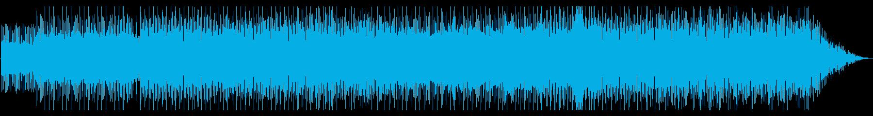 スムーズジャズ的な都会的ドラムンベースの再生済みの波形