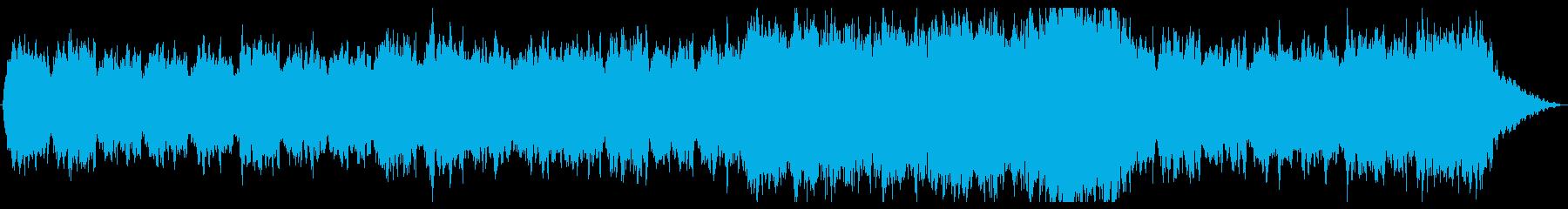 ドローン・壮大・リラックス・夜明け・NRの再生済みの波形