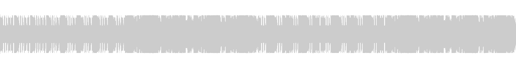 8bit・レトロゲーム・アップテンポの未再生の波形
