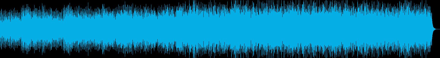 ドラマチックな和風バラードの再生済みの波形