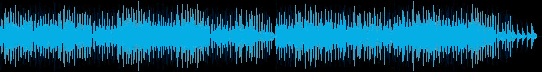 爽やかでちょっとかわいい曲の再生済みの波形