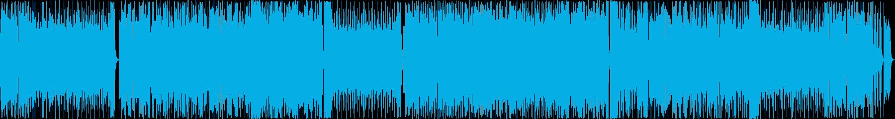 王道カッコイイ系フュージョンの再生済みの波形