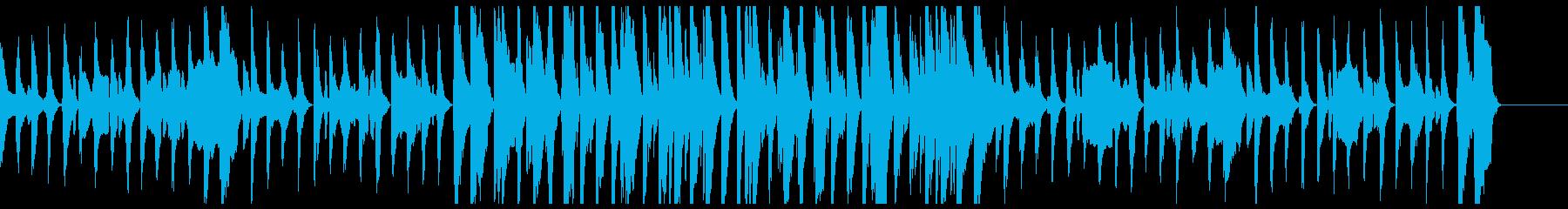 いたずらを企てるBGMの再生済みの波形