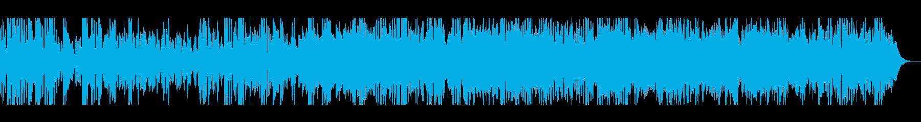 キラキラした不思議な音色のポップスの再生済みの波形