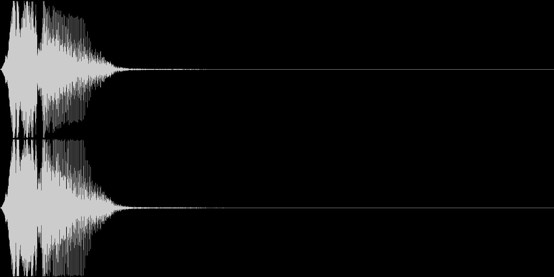 「フィーバー」アプリ・ゲーム用の未再生の波形