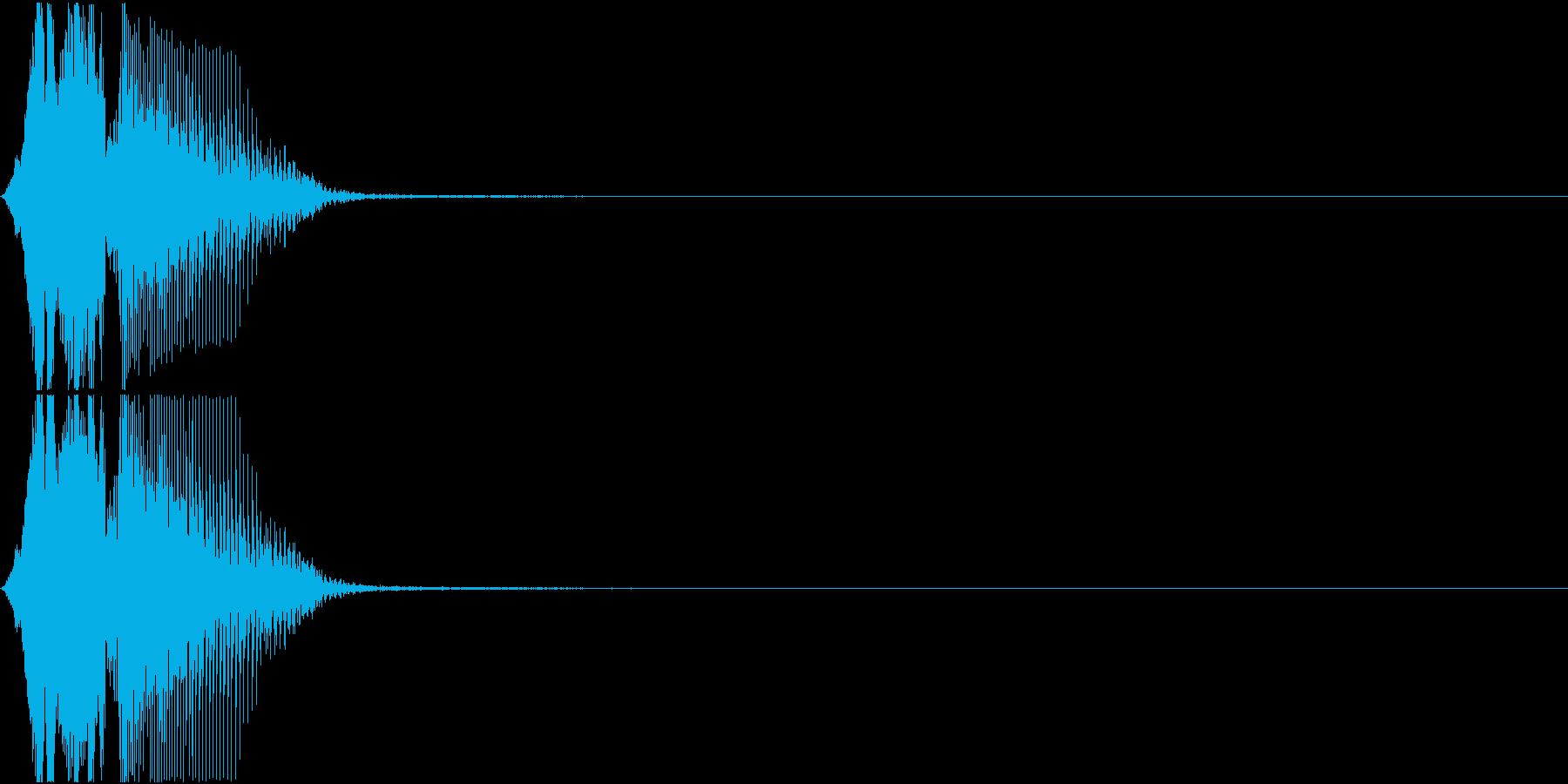 「フィーバー」アプリ・ゲーム用の再生済みの波形