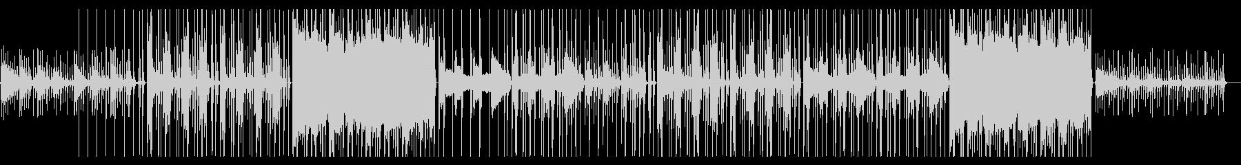 カリンバがメインのオリエンタルビートの未再生の波形