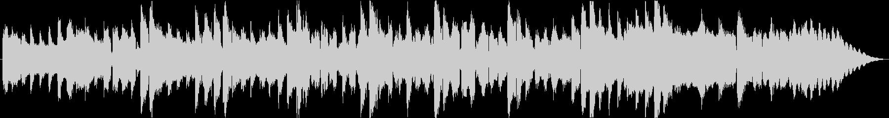 フルートの短いメロディーのためのピ...の未再生の波形