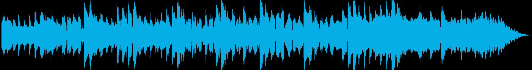 フルートの短いメロディーのためのピ...の再生済みの波形
