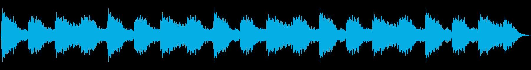 不気味なホラー曲/怪談・ミステリー等にもの再生済みの波形