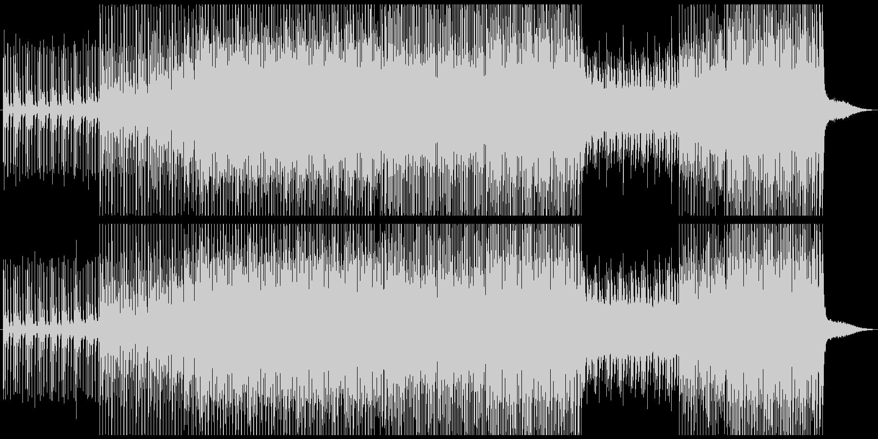 ダンストロピカルの未再生の波形
