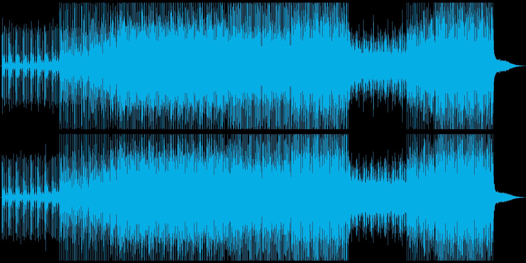 ダンストロピカルの再生済みの波形