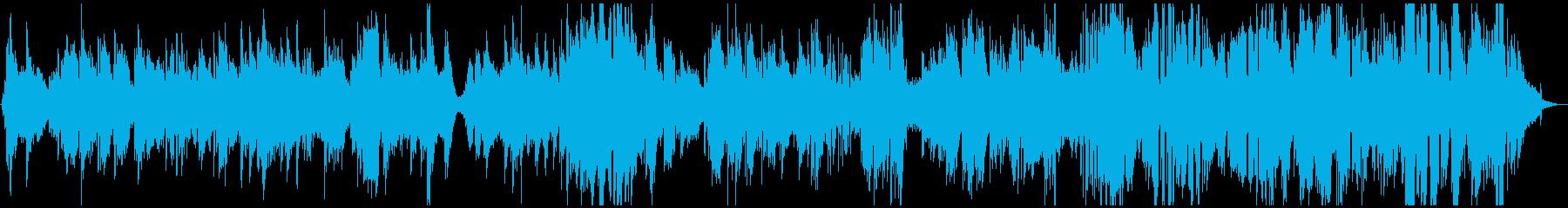 再帰的。一息、ピアノの即興サックス...の再生済みの波形