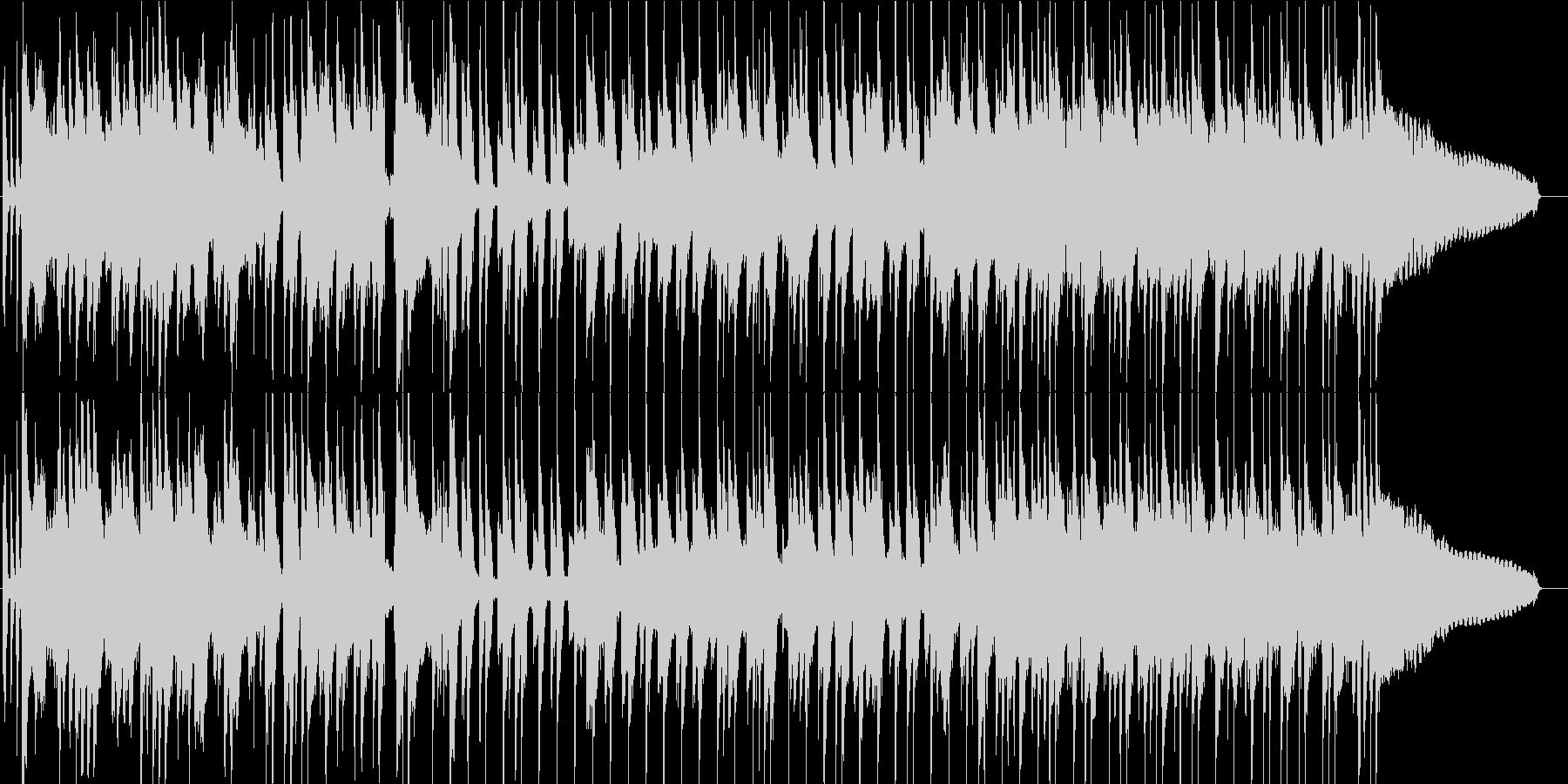伝統的 ジャズ ビバップ ブルース...の未再生の波形